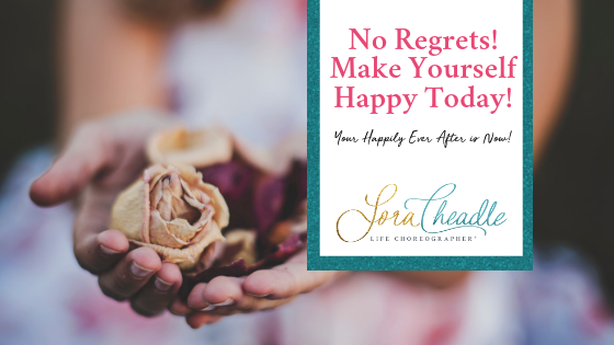 Is it time to set yourself free? To make yourself happy? To find your own Happily Ever After? Remember, the biggest regret is not doing it sooner.